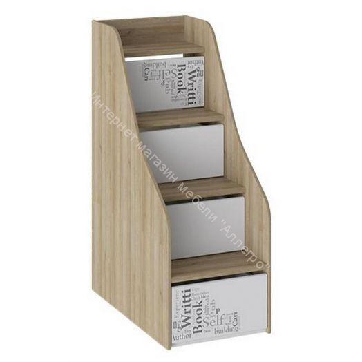 Лестница приставная с ящиками «Оксфорд» ТД-139.11.12