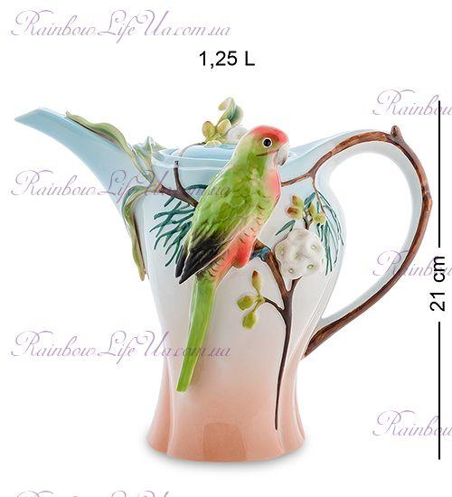 """Чайник заварочный Попугай Розелла """"Pavone"""""""