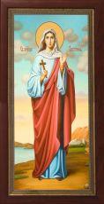 Мерная икона Виктория Солунская мученица (25x50см)