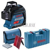 Bosch GLL 3-80 + кейс - Лазерный нивелир - купить в интернет-магазине www.toolb.ru цена с доставкой по России и СНГ
