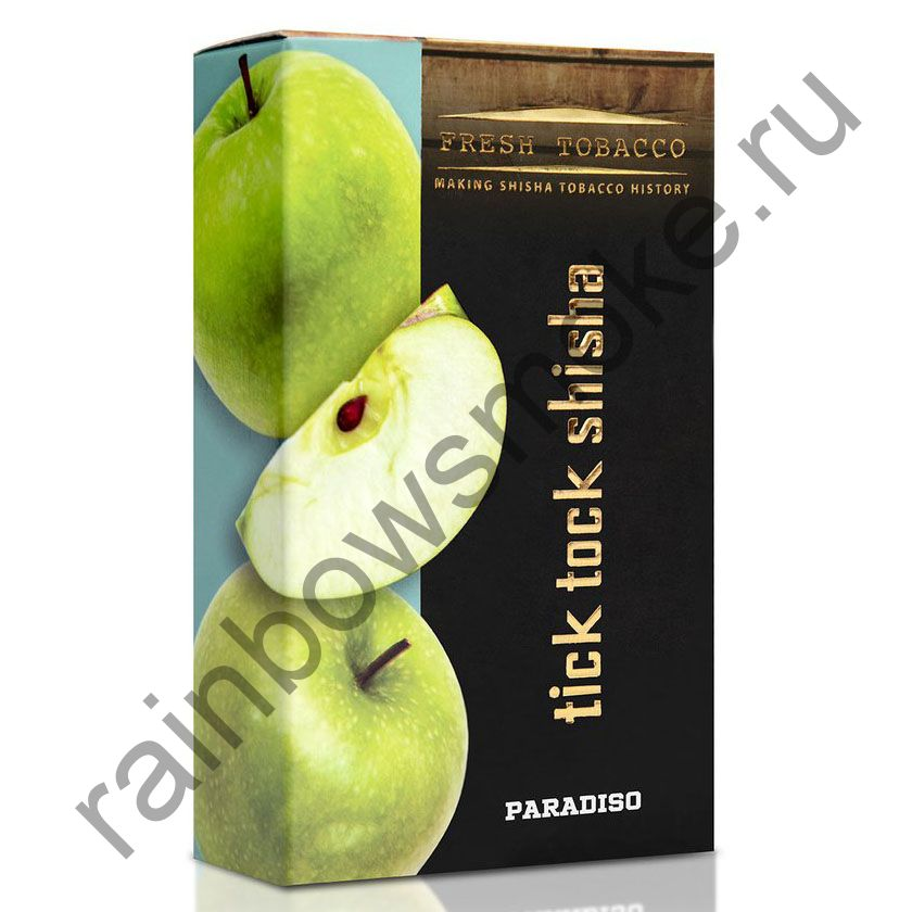Tick Tock Hookah 100 гр - Paradiso (Green Apple) (Зеленое Яблоко)
