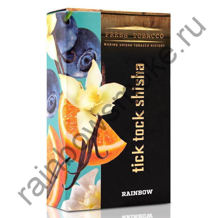 Tick Tock Hookah 100 гр - Rainbow (Orange, Blueberry & Vanilla) (Апельсин, Черника и Ваниль)