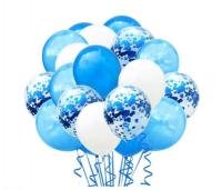 Цветные латексные шары воздушные шары с конфетти 53