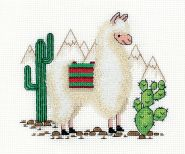 """Klart"" набор для вышивания 8-371 ""Лама"""