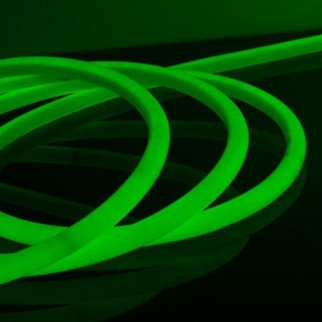 Гибкий неон Зеленый, 220 В, 1,5*2,5 см SMD