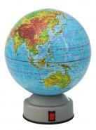Глобус физический Rotondo Новая карта вращающийся 142 мм