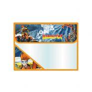 Папка для тетрадей, 1 отд., на липучке, сверху, пластик, А5/230х190 мм, ACTION!, MANUSCRIPT