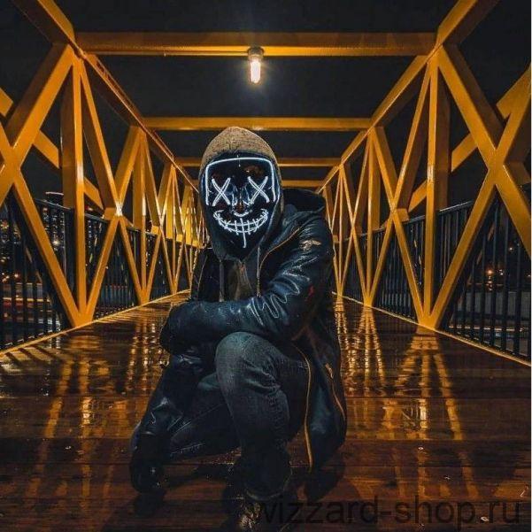 Неоновая маска Судная ночь