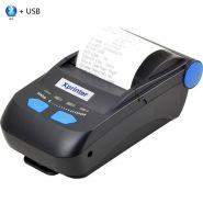 Мобильный принтер чеков XPrinter XP-P300 (USB + Bluethooth) черный