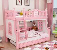 Кровать двухъярусная домик Принцесса Fantasy №IR01