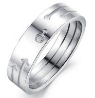 Кольцо с символом Марса