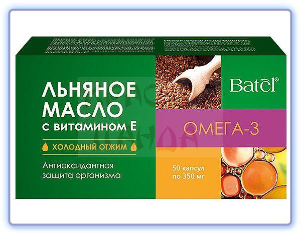 Льняное масло с витамином E Batel