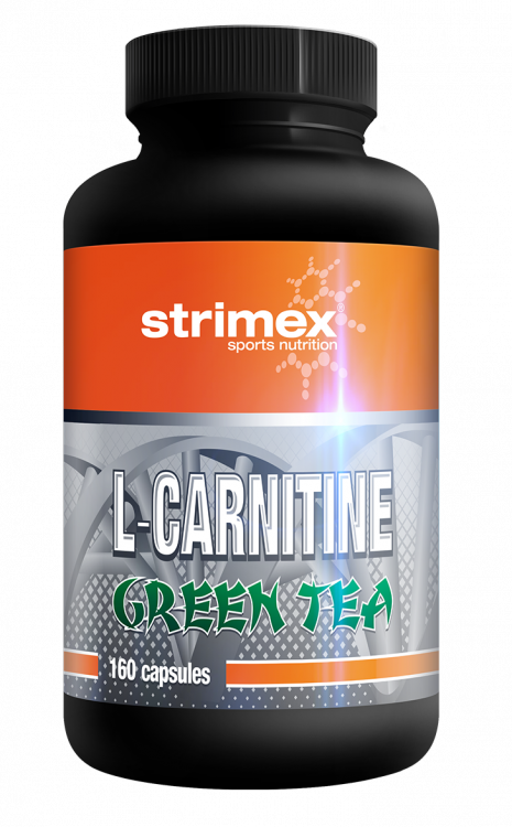 L-Carnitine plus Green Tea от Strimex 120 кап