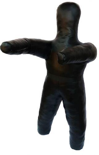 Манекен двуногий для борьбы 140 см, 30 кг, кожзаменитель
