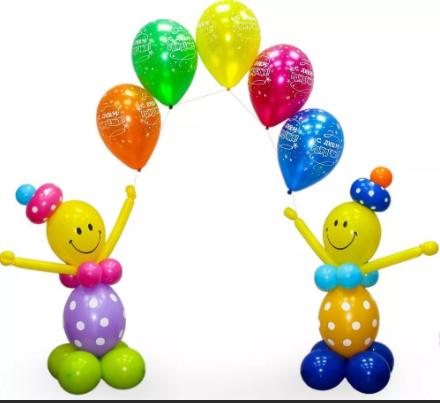 Клоуны из шаров