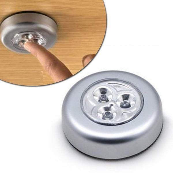Светодиодные светильники на батарейках Stick and Click (Светлячки)