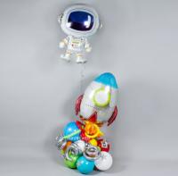 Фигура из шаров «Ракета»