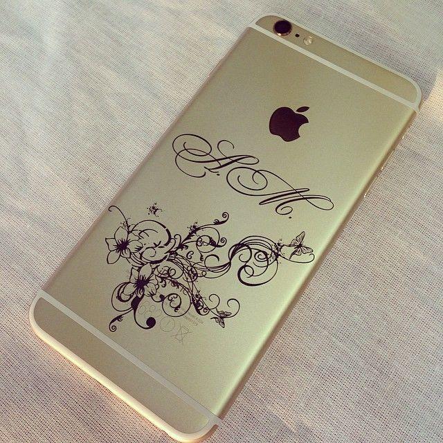 Лазерная гравировка на телефоне на заказ