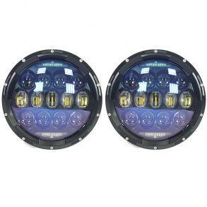 Светодиодные фары головного света 7 дюймов 260Вт CREE с ДХО и поворотниками