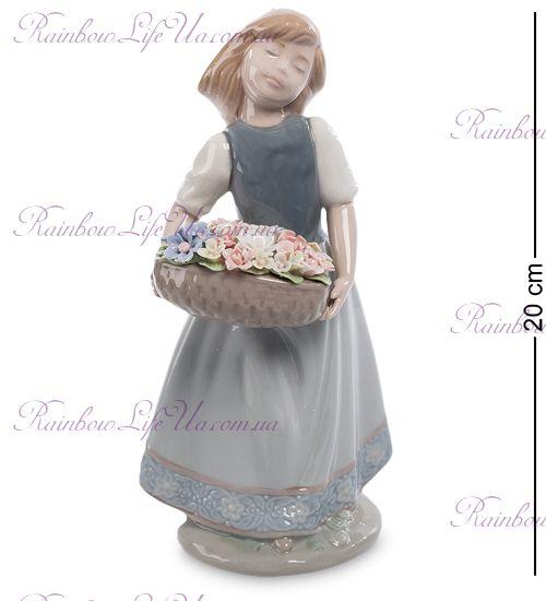 "Статуэтка Девушка с цветами CMS-20/25 ""Pavone"""