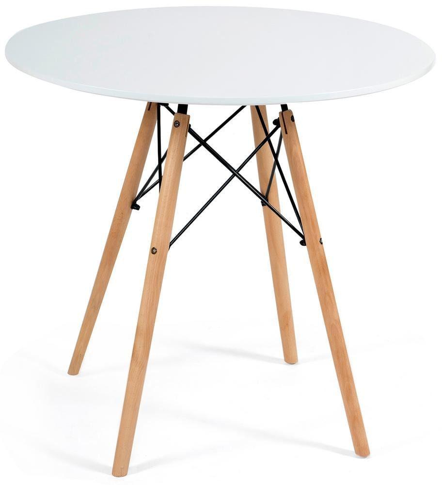 Стол «Cindy next» (mod.80-MDF) (Белый)