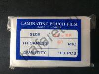 Пленка пакетная глянцевая 54x86 мм, 60 микрон