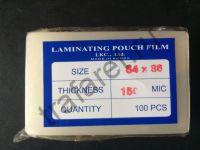 Пленка пакетная глянцевая 54x86 мм, 150 микрон