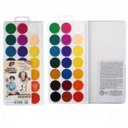 Акварель 21 цветов Луч Школа творчества без кисти пластиковая коробка 29С 1758-08