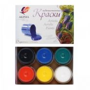 Луч Краски акриловые 6 цветов (22С 1408-08)