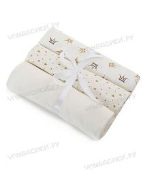 ММ Подарочные пеленки 120х100 (кулирка)  Набор из 3х пеленок