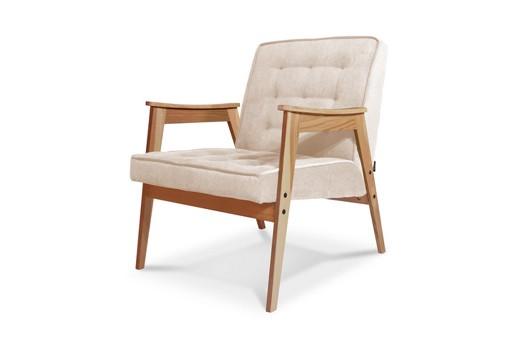 Кресло Метеор (белый/нюдовый)