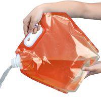 Складная канистра для воды (цвет оранжевый)