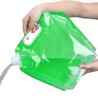 Складная канистра для воды (цвет зеленый)_1