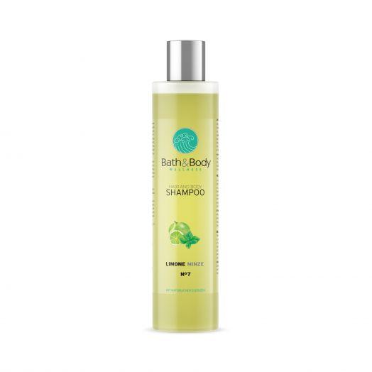 Шампунь для волос / Лимон и мята / Глубокое очищение