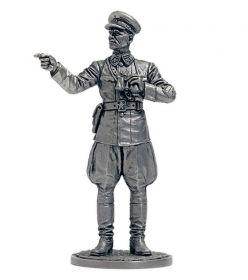 Генерал-полковник И.С.Конев, 1942 г. СССР (олово)