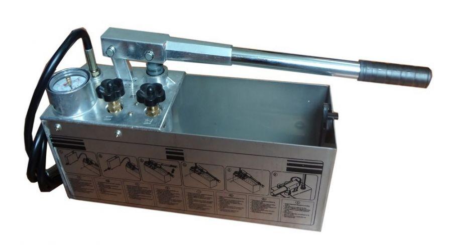 Ручной опрессовщик Zitrek RP-50 (10л., 0-60 атм., 9кг, бак нерж. сталь) 068-1316-1