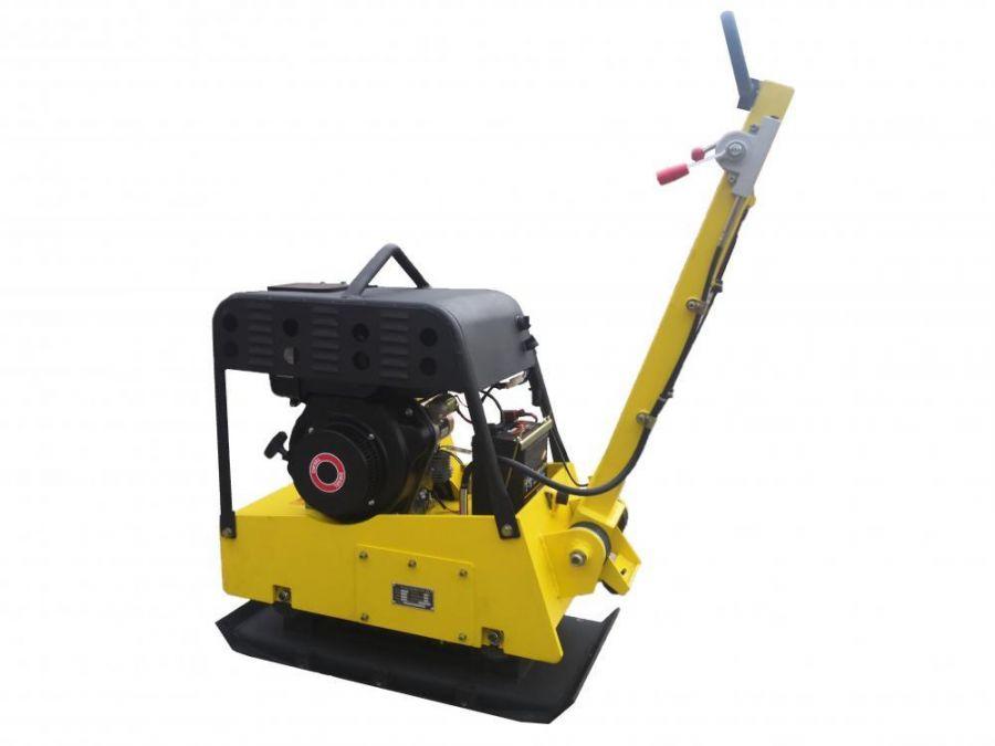 Виброплита реверсивная Zitrek CNP 30-3 AES (Diesel Loncin 178FE,6,5hp162 кг.) 091-0070