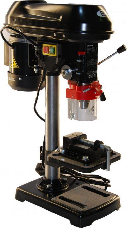 Станок сверлильный Zitrek DP-90 (220В/550Вт/9скор/D16мм) с тисками 067-4011