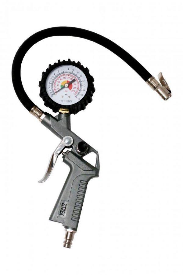 Пистолет для накачки с манометром Zitrek TG-61 018-0903