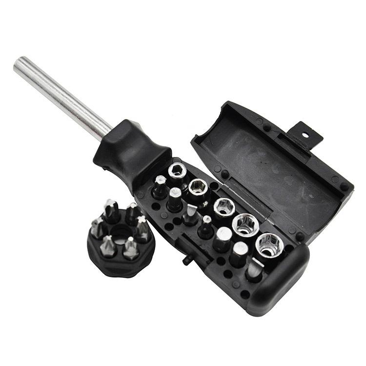 Отвертка со сменными битами и головками Zitrek SRA18 065-0020