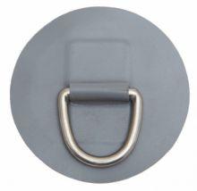 D-кольцо, сталь, 45 мм, с подложкой