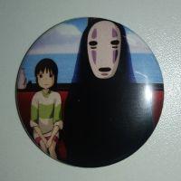 Значок (Средний 37 мм) Hayao Miyazaki