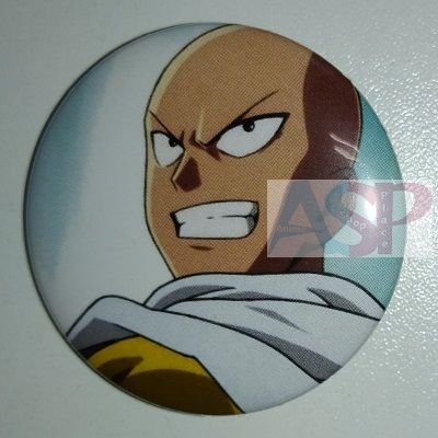 Значок (Средний 37 мм) One Punch Man