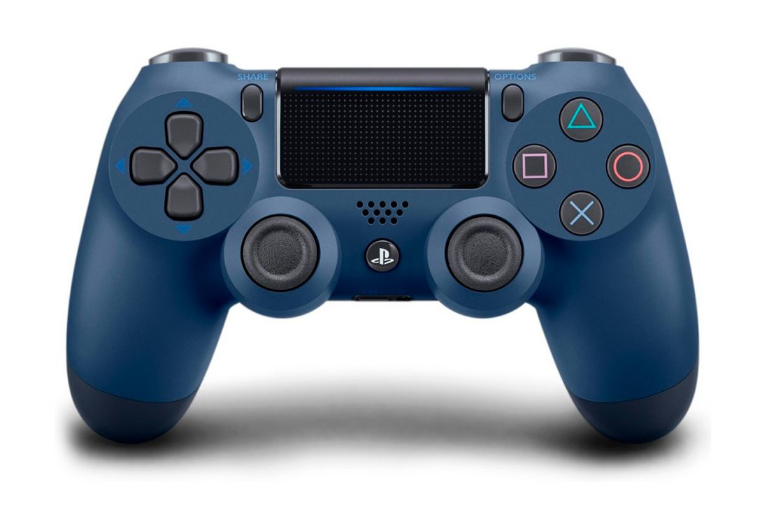 Sony Dualshock 4 v2 Color Midnigth Blue Геймпад для Ps4 синяя полночь