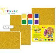 Набор цветной пористой резины с блестками А4 6л 6цв. TZ 10139 толщина 2 мм Tukzar