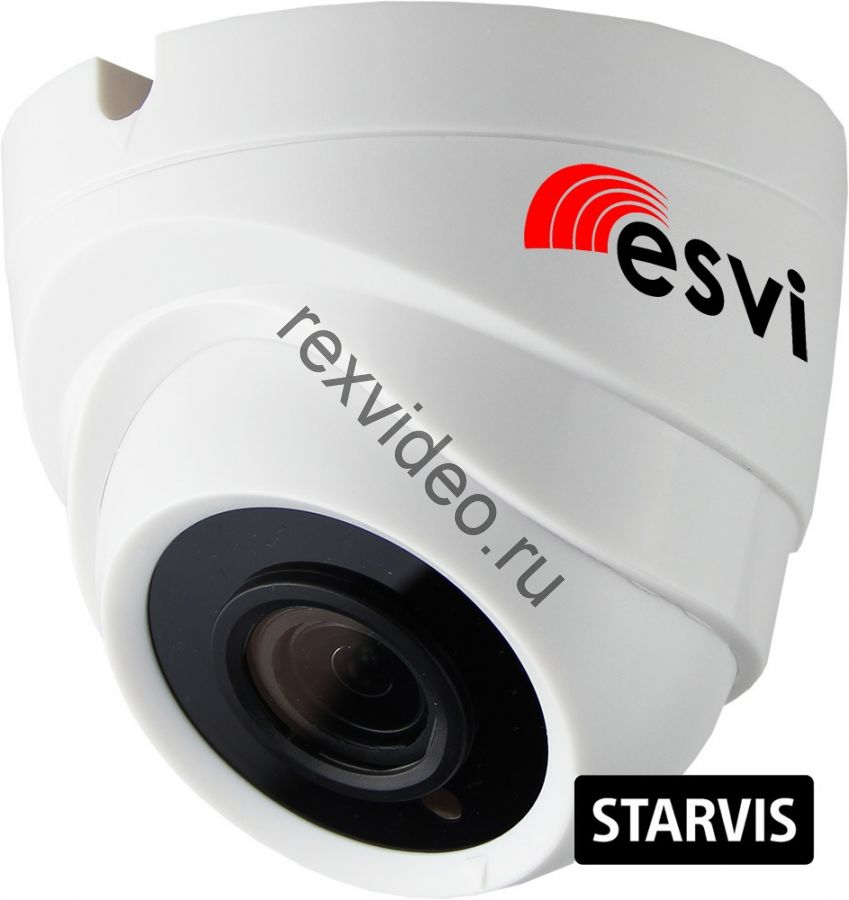 Внутренняя IP (2 Mp, Sony STARVIS IMX307 аудио вход )  видеокамера EVC-DL-SL20-A (BV)
