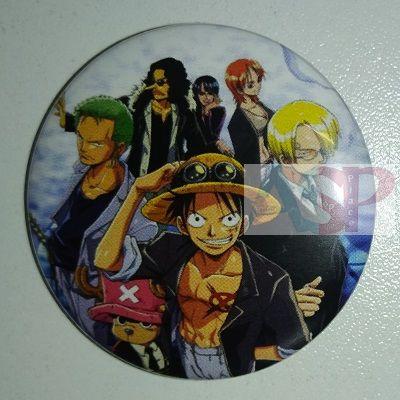 Значок (Средний 37 мм) One Piece
