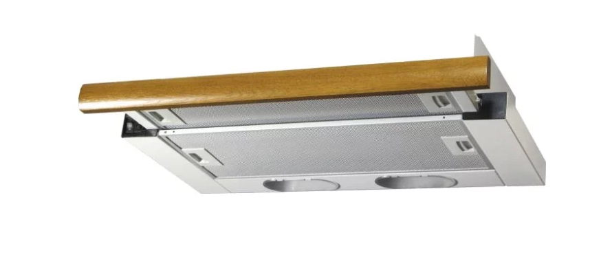 Встраиваемая вытяжка ELIKOR ИНТЕГРА 50П-400-В2Л Белый/дуб коричневый