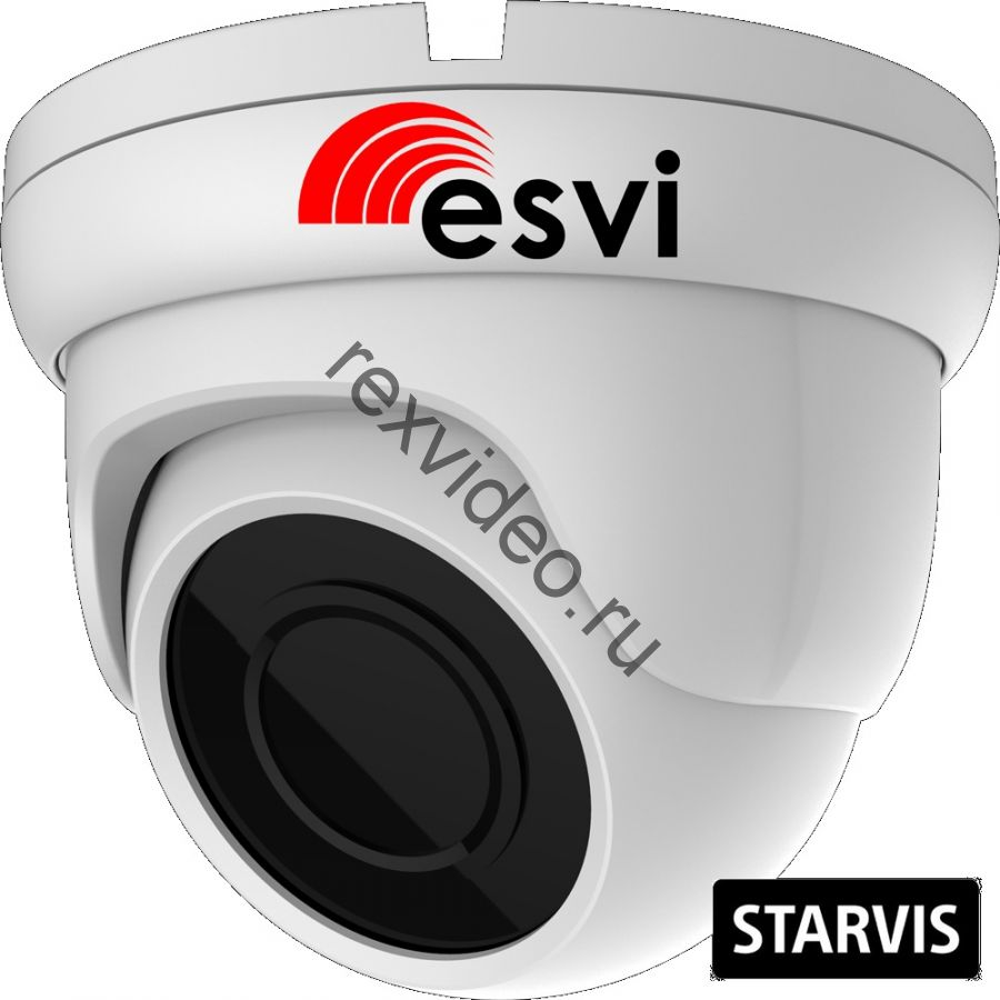 Антивандальная IP (2 Mp, Sony STARVIS IMX307, POE, микрофон, SD)  видеокамера EVC-DB-SL20-P/M/C (BV)