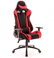 Компьютерное кресло Everprof Lotus S4 игровое Черное с красным